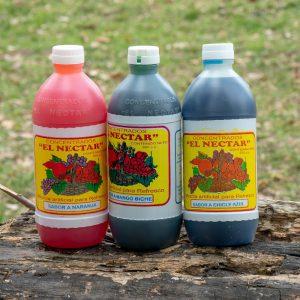 Néctar diferentes sabores