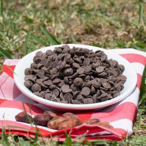 Chips de chocolate normal